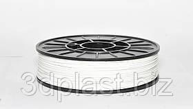 PLA пластик 3Dplast для 3D принтера 1.75 мм 0.85, Білий