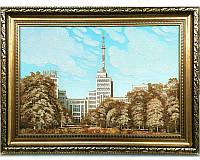 Эксклюзивный подарок - красивая картина из янтаря Госпром Харьков