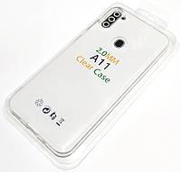 Чохол 2 мм для Samsung Galaxy A11 A115F, M11 M115F прозорий силіконовий Silicone Case Clear 2.0 mm