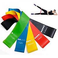 Набор резинок для фитнеса и спорта Esonstyle 5 шт + Чехол в комплекте