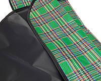 Пподстилка для пикника, непромокаемый коврик для пикника (зеленый), водонепроницаемый плед-сумка на природу