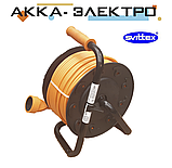 Подовжувач на котушці з виносною розеткою 30м 2х1.5мм2 SVITTEX SV-2050, фото 2