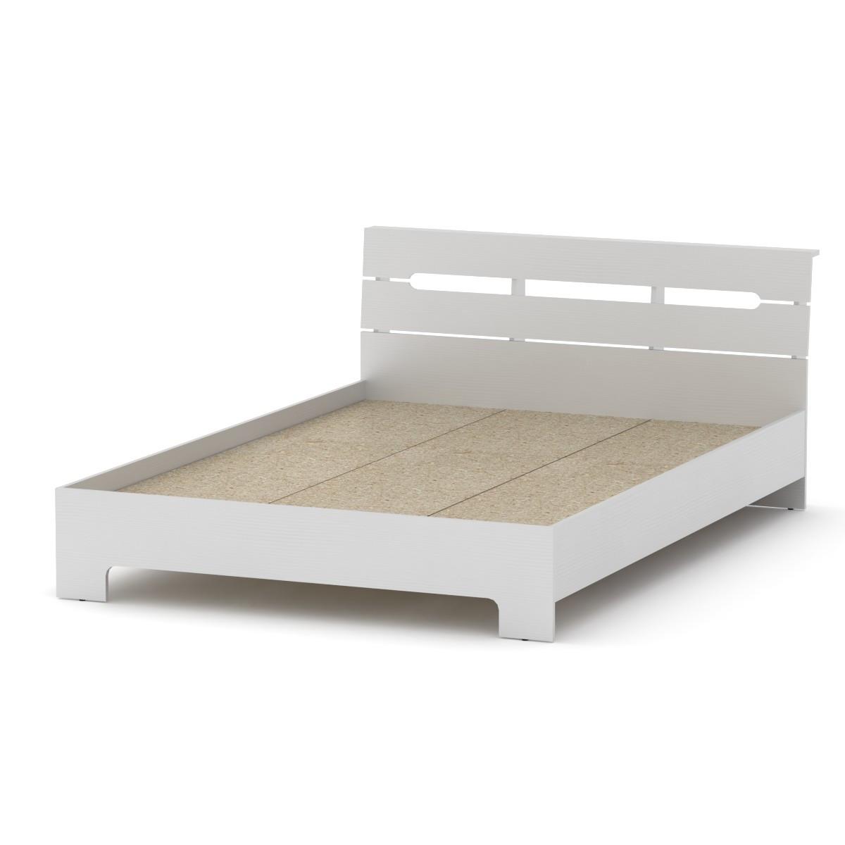 Кровать 140 Стиль нимфея альба (белый) Компанит (144х213х77 см)