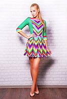 Яркое женское платье Valentino Rainbow, фото 1