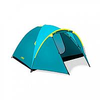 Палатка четырехместная с навесом, палатка для туризма и походов BW 68091