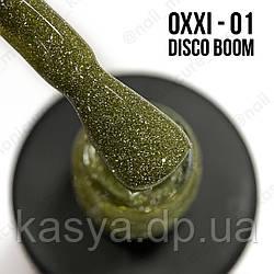 Гель-лак Disco Boom Oxxi 1, світловідбиваючий, 10мл
