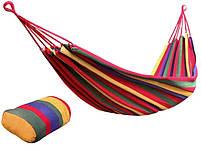 """Гамак тканинний """"Мексиканець"""" 200х80 див. різнобарвний гамак, підвісний гамак, фото 6"""