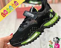 Детские кроссовки для детей на мальчика + светоотражающие вставки детская обувь
