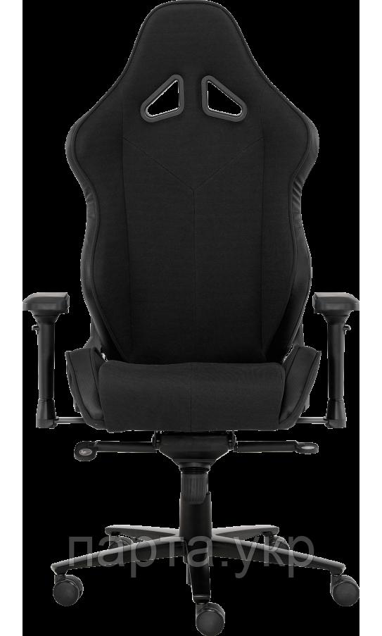 Геймерское кресло GT Racer X-2612 Black, ткань