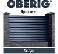 ОПТ - Забор-жалюзи металлический 80/90 Престиж HARD двухсторонний полиестер 1,00 мм (0,5-3,0 м), фото 1