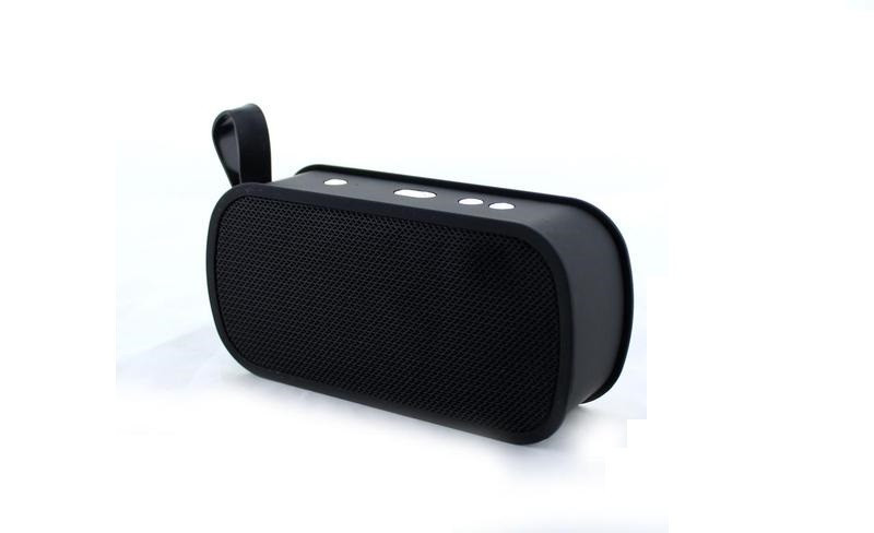 Портативна bluetooth колонка MP3 плеєр SPS M168 Black