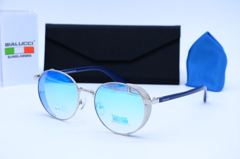 Женские овальные очки солнцезащитные Bialucci 6005 с05