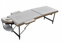 Стіл масажний валіза Zenet ZET-1044 розмір L бежевий