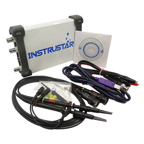 Осциллограф USB приставка Instrustar DS205B, DDS генератор, 2канала 20МГц 48МС/с
