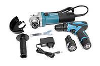 Набор Инструментов Makita Power Tools 2в1 Шуруповерт MAKITA DF330DWE + Болгарка Makita 9558HNG