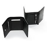 Жіночий компактний шкіряний гаманець ., фото 2
