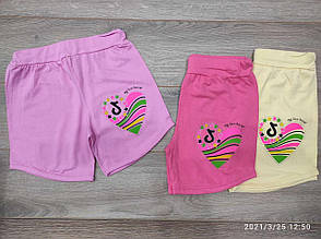 Подростковые шорты для девочки Tik Tok р.9-12 лет