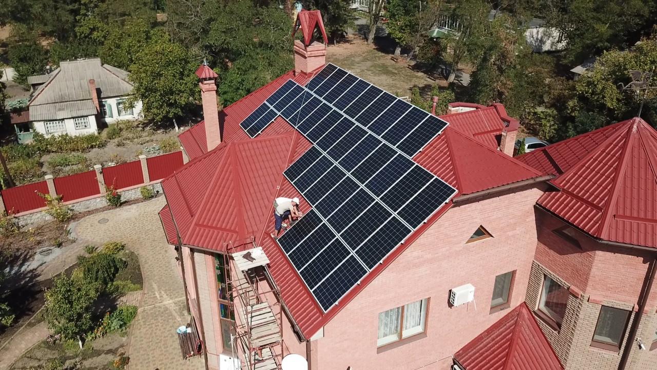 Сонячна панель ABi-Solar AB450-72MHC (сонячна батарея,фотомодуль,зелений тариф,сонячна електростанція)