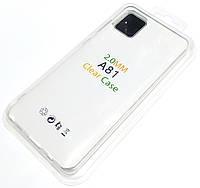 Чохол 2 мм для Samsung Galaxy Note10 Lite N770F / Galaxy A81 прозорий силіконовий Silicone Case Clear 2.0 mm