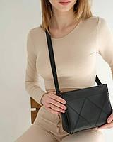 Жіноча сумка Стелла екошкіра 27*16*7 см чорний