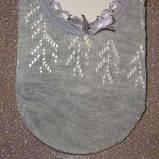 Шкарпетки жіночі невидимі ажурні Bross різних кольорів, фото 2
