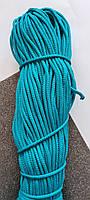 Полиэфирный шнур с сердечникм 5мм №21 Морская волна
