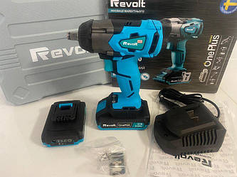 Аккумуляторный гайковерт безщёточный REVOLT IW 21/400BL(+2аккум.и зарядка)+Гарантия!