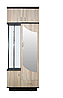 Прихожая Джули (плюс) с зеркалом ДСП Венге магия/Дуб сонома /  МАКСИ-МЕбель