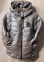 """Куртка підліткова демісезонна GIRL BOSS на дівчинку 116-140 см """"BENTLEY""""недорого від прямого постачальника"""