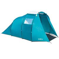 Палатка четырехместная водостойкая, двухслойная, туристическая
