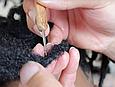 Гачок для дредів з бамбука 0,5 мм 1 гачок Natifah канекалон, фото 5