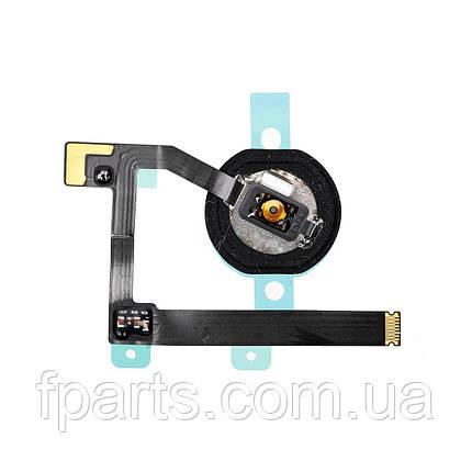 Шлейф iPad mini 5 (A2124, A2125, A2126, A2133) кнопка HOME, White, фото 2