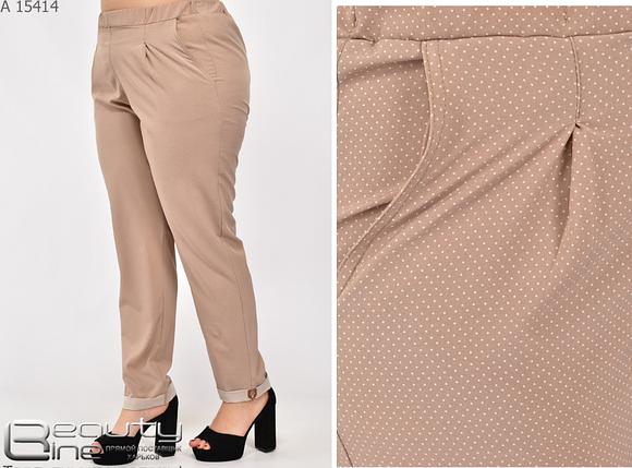 Жіночі літні брюки Україна Розміри: 46.48.50.52.54.56.58.60.62.64., фото 2