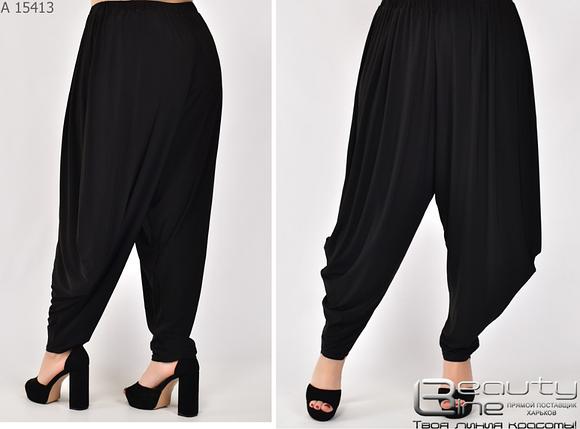 Женские брюки-голифе Украина Размеры: 60.62.64.66.68, фото 2
