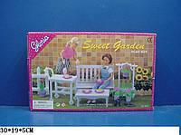 """Мебель """"Gloria"""" 9876 (36шт/3) для сада,скамейка,цветы ,в кор.30*19*5см, шт"""