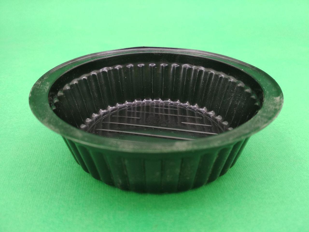 Упаковка для соусов ПС-42Д Черная (100мл) Ф86 уп/50 штук