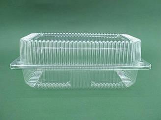 Контейнер пластиковий з відкидною кришкою ПС-122 уп./50штук