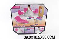 Мебель 66859(1522823)(12шт/2) для гостиной, с куклой,2кресла,2дивана,торшер,стол...в кор.39*10,5*38с, шт