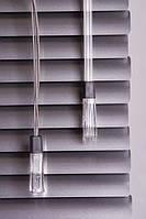 Жалюзи горизонтальные алюминиевые silver под заказ в Украине для дилеров