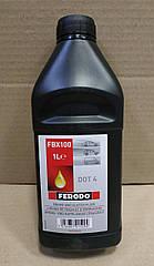 Тормозная жидкость Renault Symbol New/Thalia (Ferodo FBX100) 1л (высокое качество)