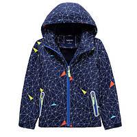 Стильная яркая ветровка курточка для мальчика, размеры 110,116,128,140,146