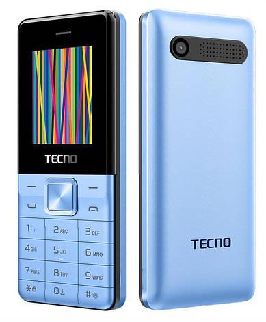 Мобільний телефон Tecno T301 Dual Sim Blue (Синій), фото 2