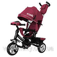 Детский трехколесный велосипед TILLY STORM T-349/2 (красный цвет)