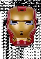 Детская карнавальная маска Железного человека со световым эффектом