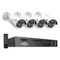 Комплект видеонаблюдения Kit Hiseeu HB615 5MP POE+DVR NVR