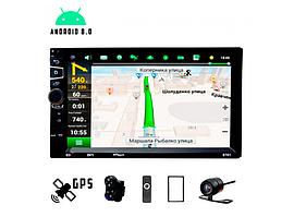 Автомагнітола 2 DIN CML-PLAY 8701, Android 8.1, GPS, Bluetooth, IPS екран, WI-FI, USB з камерою заднього виду