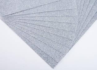 Фоамиран з глітером (блискучий) 2мм (20х30см)