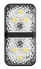 Дверная автомобильная лампа Baseus Warning Light 2 шт. Черный (CRFZD-01), фото 3
