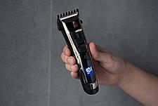 Машинка для стрижки Ardesto HC-Y30-DBS 4-30 мм Черный/ Сталь, фото 3