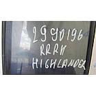 Стекло дверное глухое RR заднее правое TOYOTA HIGHLANDER 01-07, фото 2